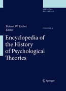 Encyclopedia of the History of Psychological Theories. 2 Bände