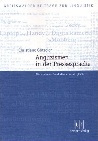 Anglizismen in der Pressesprache als Buch von C...