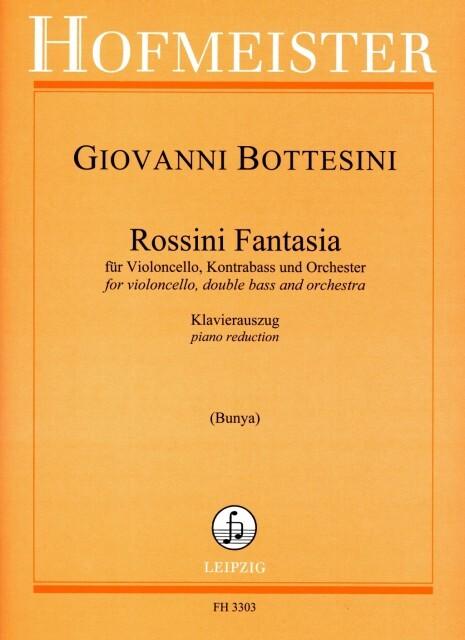 Rossini Fantasia als Buch von Giovanni Bottesini