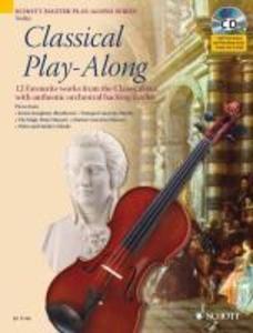 Classical Play-Along. Violine als Buch von Arte...
