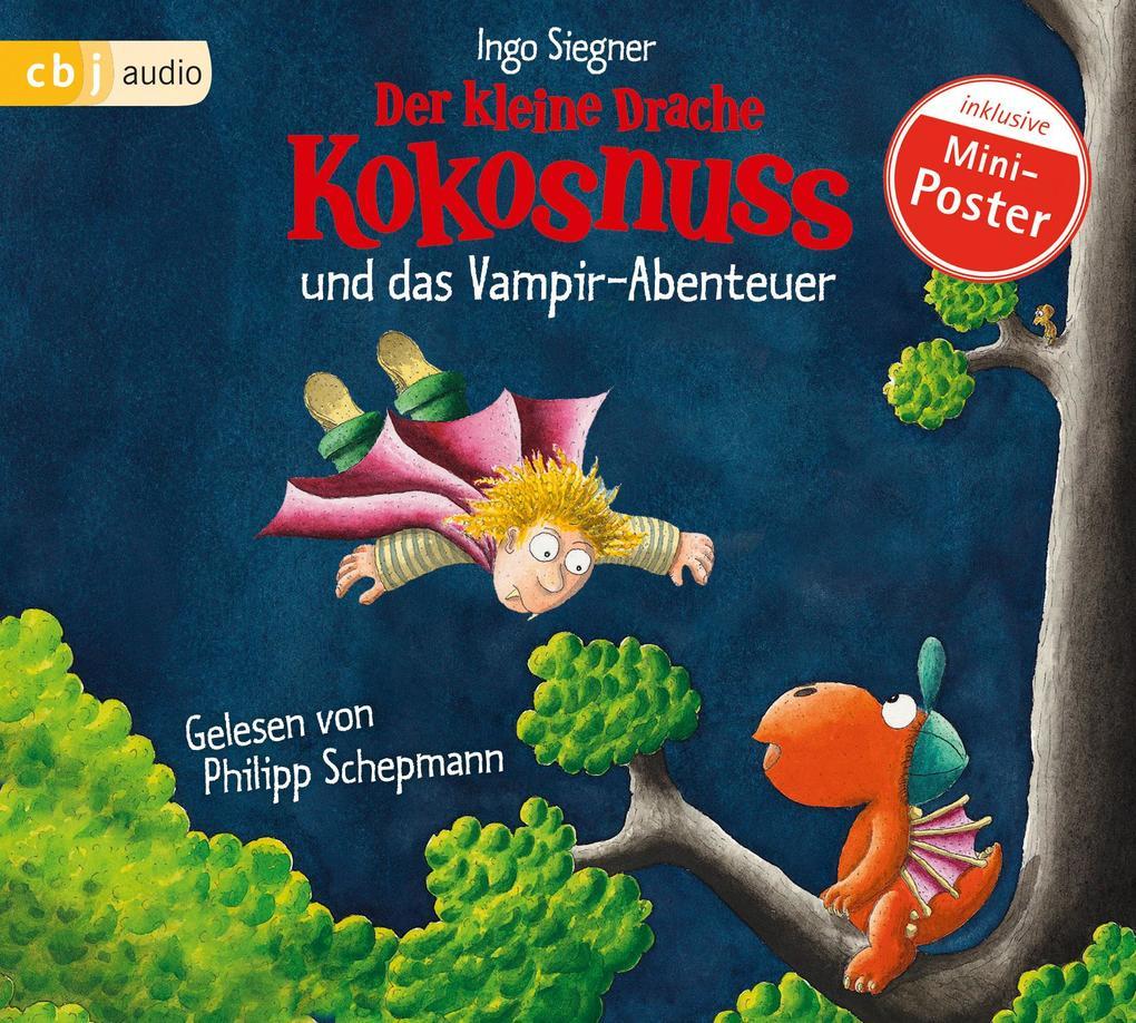 Der kleine Drache Kokosnuss 12 und das Vampir-Abenteuer als Hörbuch