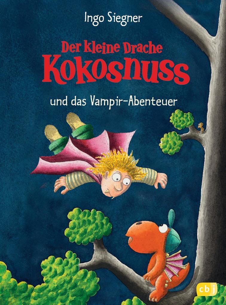 Der kleine Drache Kokosnuss 12 und das Vampir-Abenteuer als Buch