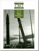Congressional Budget Office: All Priced Publications: Options for Deploying Missile Defenses in Europe - #3055