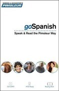 Pimsleur Gospanish Course - Level 1 Lessons 1-8 CD: Learn to Speak, Read, and Understand Latin American Spanish with Pimsleur Language Programs [With