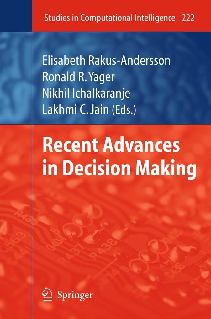 Recent Advances in Decision Making als Buch von