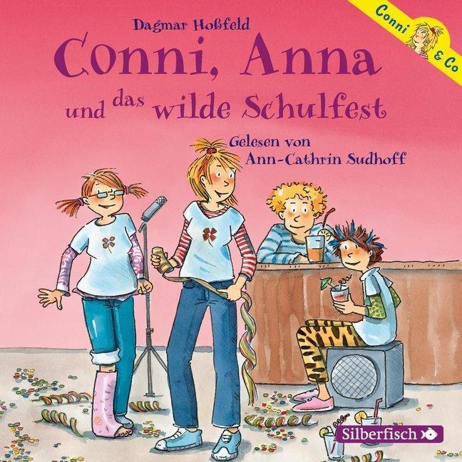 Conni & Co 04: Conni, Anna und das wilde Schulfest als Hörbuch CD