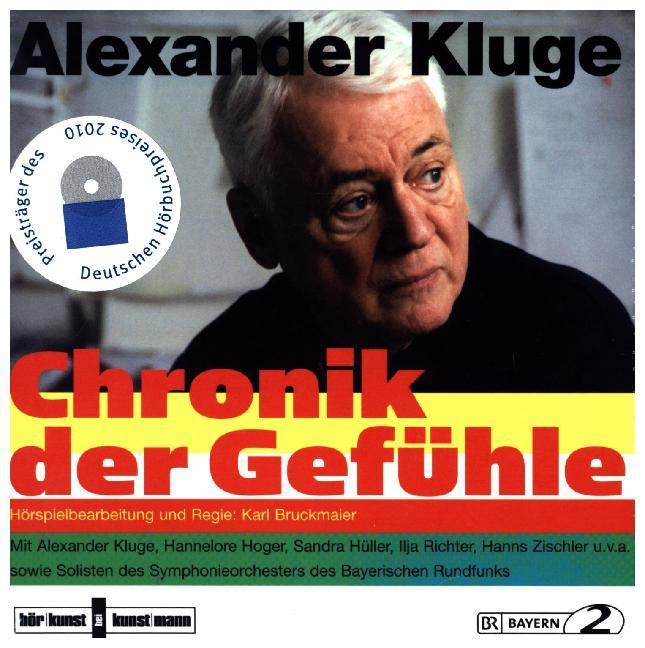 Chronik der Gefühle als Hörbuch CD von Alexande...