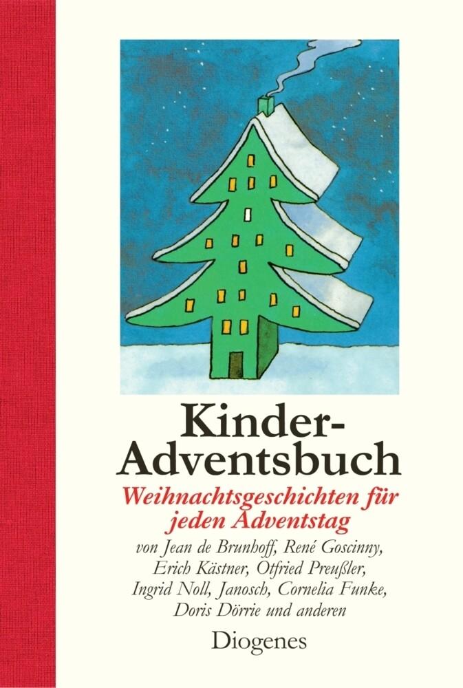 Kinder-Adventsbuch als Buch (gebunden)