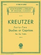 Kreutzer Forty-Two Studies or Caprices for the Violin