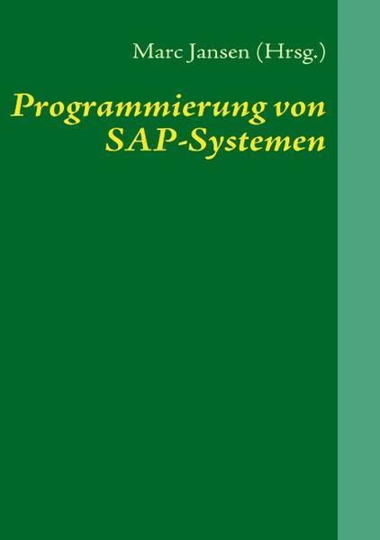 Programmierung von SAP-Systemen als Buch von