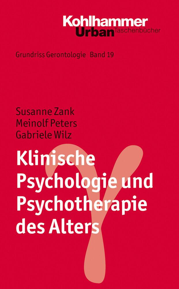Klinische Psychologie und Psychotherapie des Alters als Taschenbuch