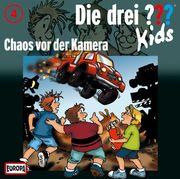 Die drei ??? Kids 04. Chaos vor der Kamera (drei Fragezeichen) CD
