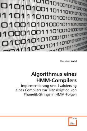 Algorithmus eines HMM-Compilers als Buch von Ch...