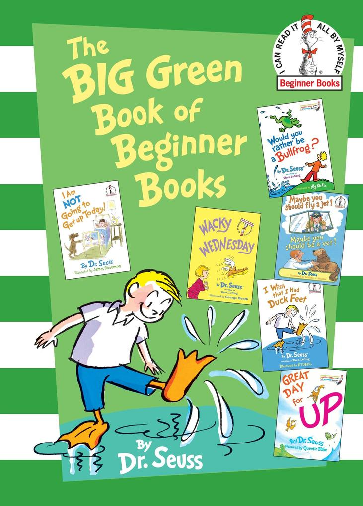 The Big Green Book of Beginner Books als Buch v...