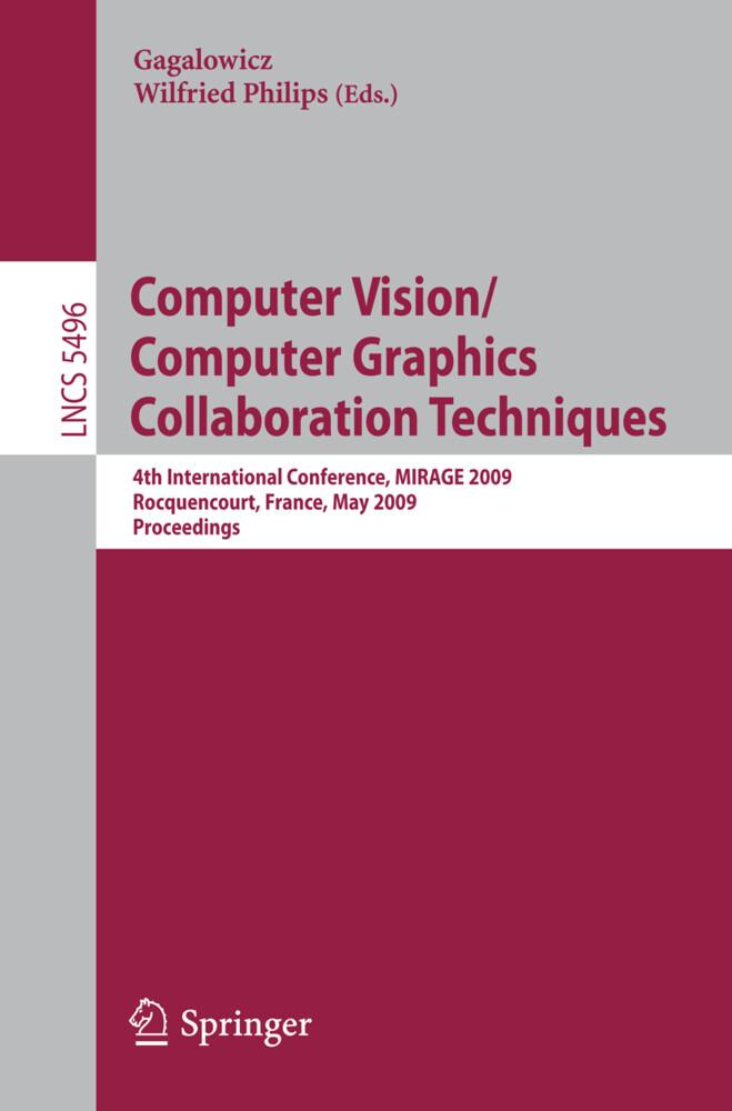 Computer Vision/Computer Graphics Collaboration...