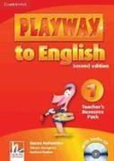 Playway to English 1 Teacher's Resource Pack + CD