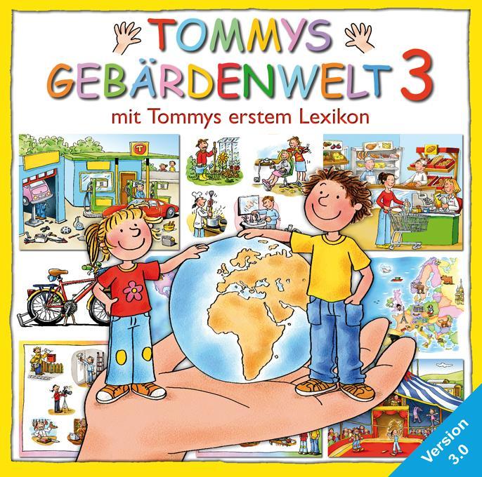 Tommys Gebärdenwelt 3. DVD-ROM für Windows Vist...