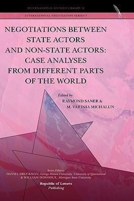 Negotiations Between State Actors and Non-State...