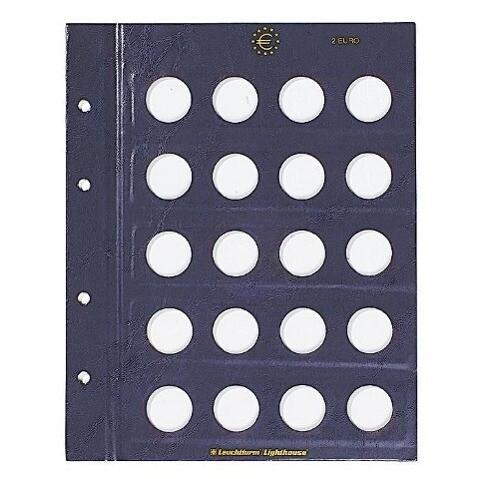 Vista Ergänzungsblätter Blanko Für Vista Classic Euroalbum Für 2