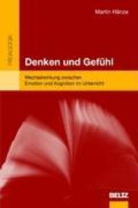 Denken und Gefühl als Buch von Martin Hänze