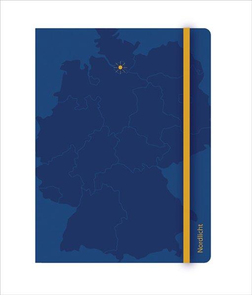 Hamburg Blank Book - Nordlicht als Buch von