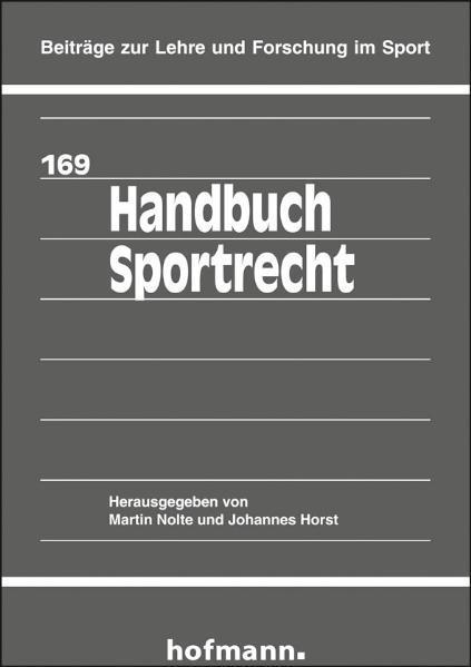 Handbuch Sportrecht als Buch von Martin Nolte, ...