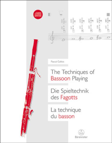 Die Spieltechnik des Fagotts als Buch von Pasca...