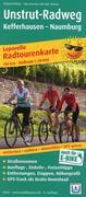 Radwanderkarte Unstrut-Radweg 1 : 50 000
