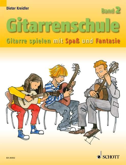 Gitarrenschule Band 2 als Buch von Dieter Kreidler