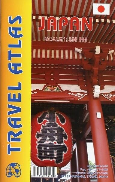 Japan Travel Atlas 1 : 850 000 als Buch von