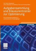Aufgabensammlung und Klausurentrainer zur Optimierung