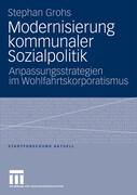 Modernisierung kommunaler Sozialpolitik