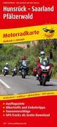 Motorradkarte Hunsrück - Saarland - Pfälzerwald 1 : 200 000