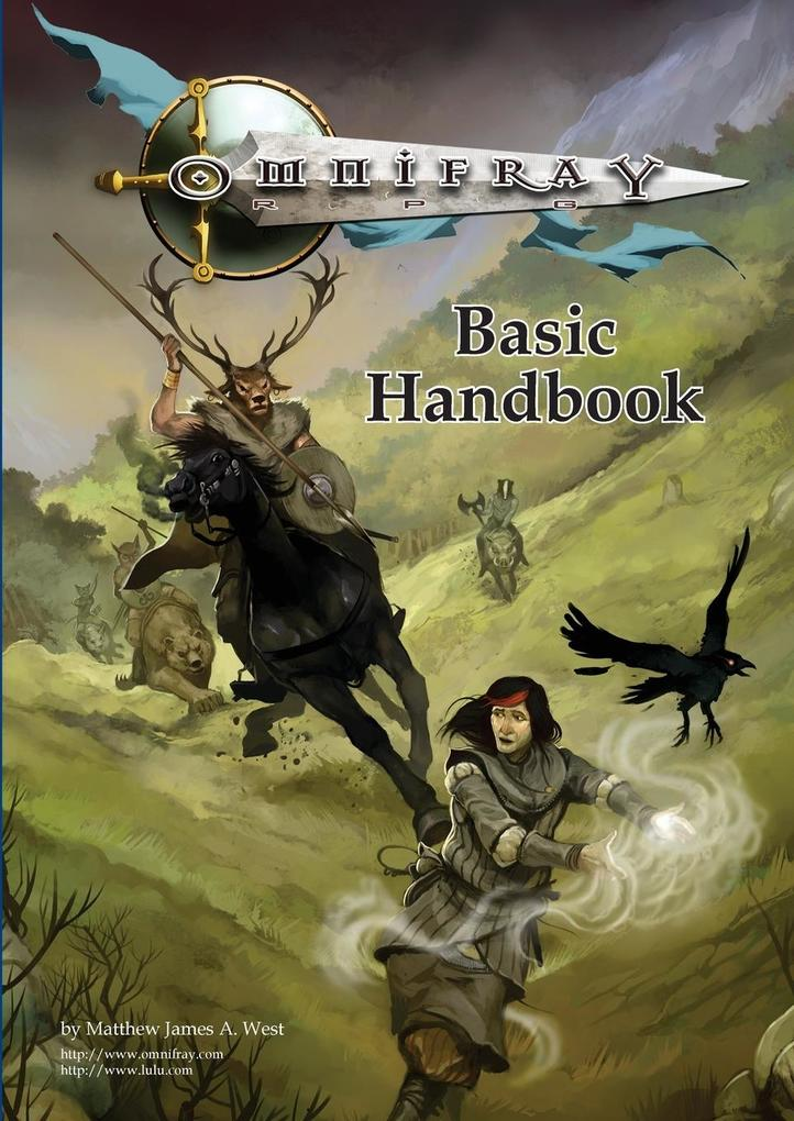Omnifray RPG Basic Handbook als Taschenbuch von...
