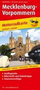 Motorradkarte Mecklenburg-Vorpommern 1 : 250 000