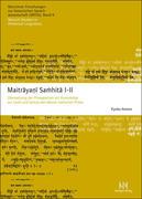 Maitrayani Samhita I-II