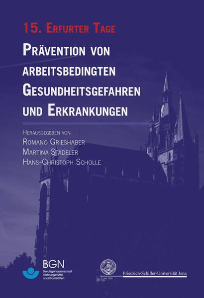 15. Erfurter Tage als Buch von