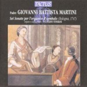 6 Sonaten Für Orgel und Cembalo