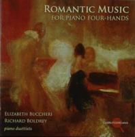 Romantische Musik für Klavier zu vier Händen