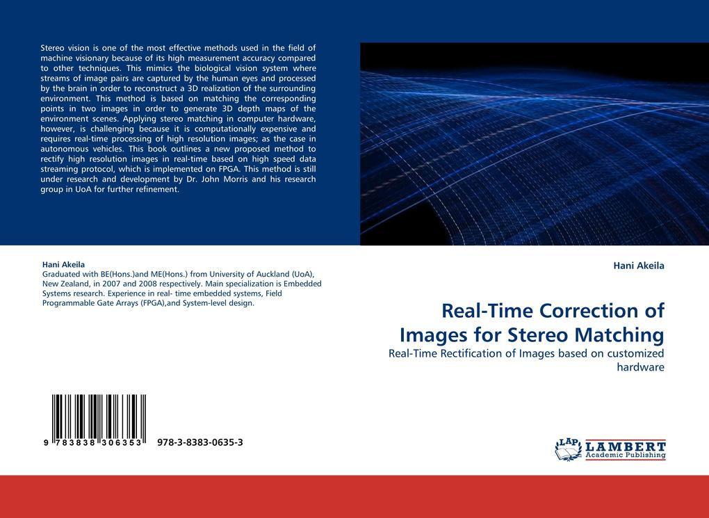 Real-Time Correction of Images for Stereo Match...