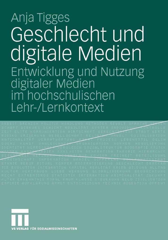 Geschlecht und digitale Medien als eBook Downlo...