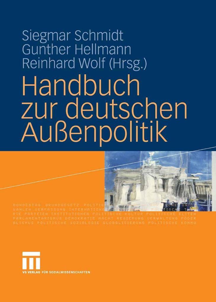 Handbuch zur deutschen Außenpolitik als eBook