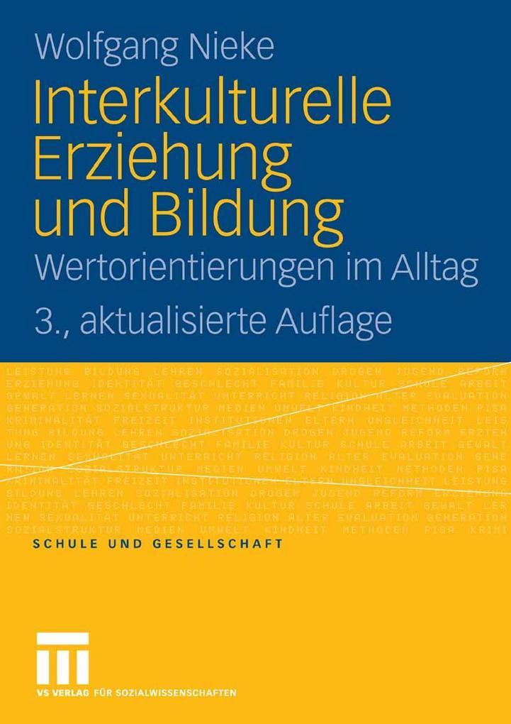 Interkulturelle Erziehung und Bildung als eBook...