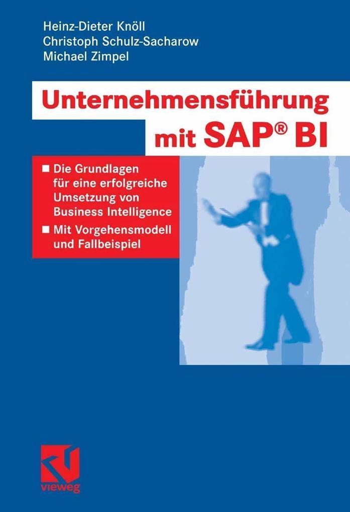 Unternehmensführung mit SAP BI als eBook Downlo...