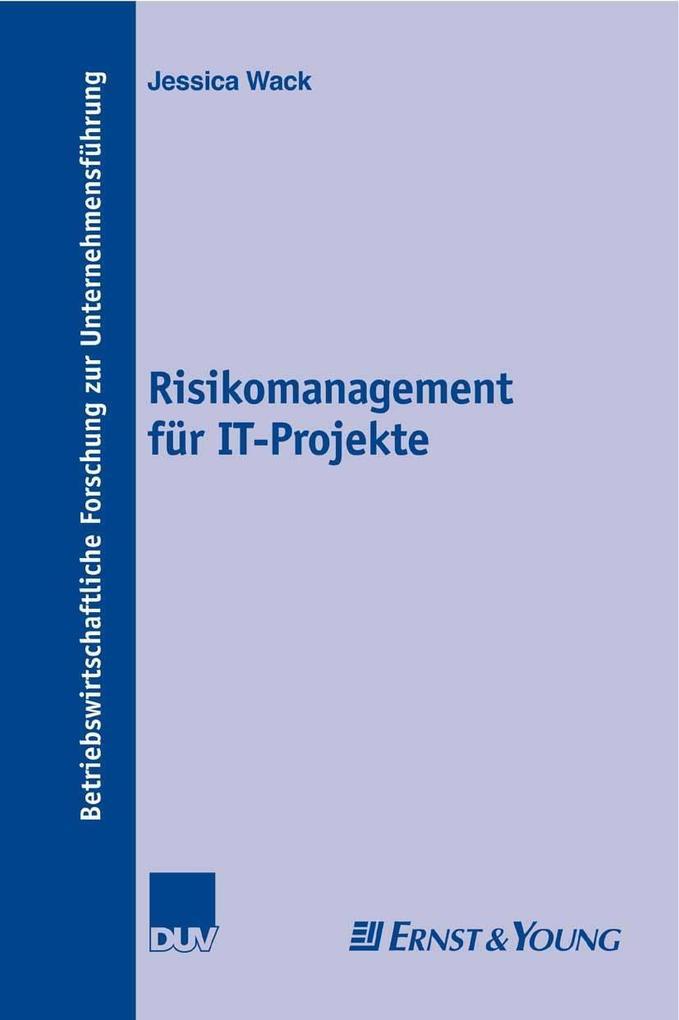 Risikomanagement für IT-Projekte als eBook Down...