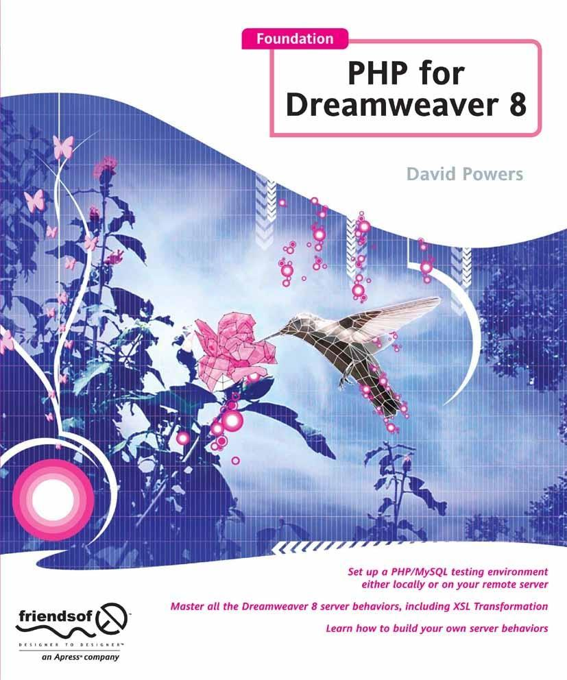 Foundation PHP for Dreamweaver 8 als eBook Down...