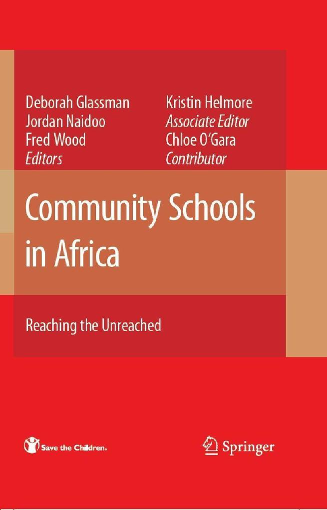 Community Schools in Africa: als eBook Download...