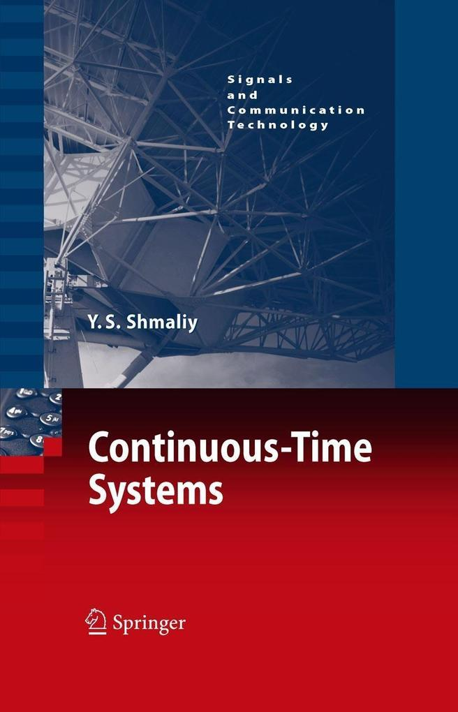 Continuous-Time Systems als eBook Download von ...
