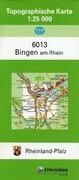 Bingen am Rhein 1 : 25 000