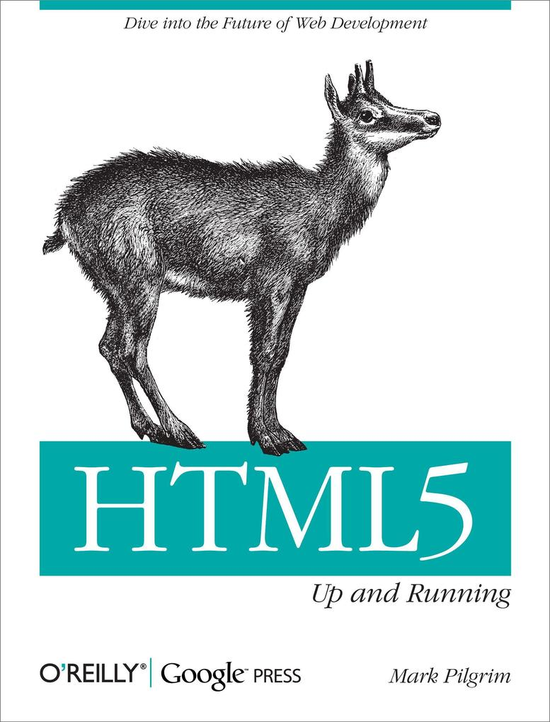 HTML5: Up and Running als Buch von Mark Pilgrim